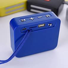 Портативная bluetooth колонка T&G TG-166, Синий, фото 3