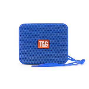 Портативная bluetooth колонка T&G TG-166, Синий, фото 2