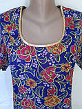 Платье с коротким рукавом 46 размер Пионы, фото 4