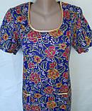 Платье с коротким рукавом 46 размер Пионы, фото 8