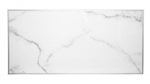 Инфракрасный керамический обогреватель ECOTEPLO LION ME 1500 Вт (белый мрамор)
