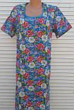 Платье с коротким рукавом 54 размер Цветы, фото 4