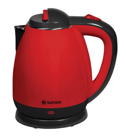 Электрочайник SATORI SSK-5180 1.8 л Красный/ Черный, фото 2