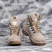Ботинки Апачи нубук летние с тканью мультикам 46 р