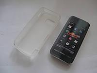 Чехол силиконовый Nokia 5800 XpressMusic белый