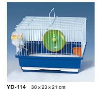 Клетка для хомячков и мышек+АКСЕССУАРЫ.30*23*21