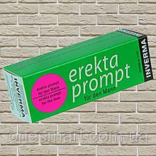 """Возбуждающий крем для мужчин """"Erekta prompt für den Mann"""" от Inverma 13 мл. Германия"""