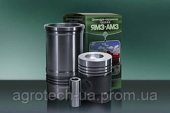 Поршнекомплект 4 канав. к двигателю ЯМЗ - 236 с кольцами Стапри