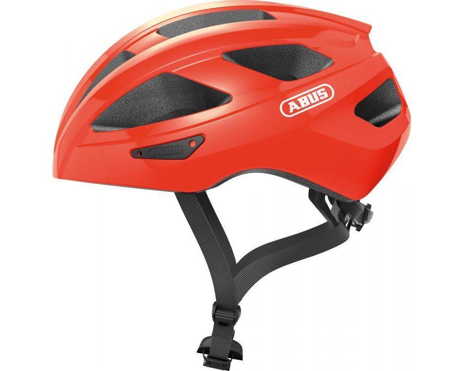 Шолом велосипедний ABUS MACATOR L 58-62 Shrimp Orange