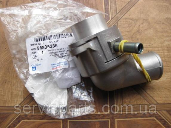 Термостат разборной железный на Lacetti Tacuma 1.6, фото 2