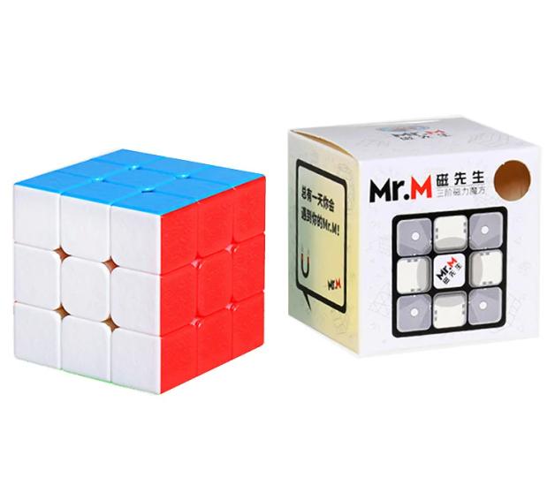 Кубик Рубика ShengShou Mr M 3x3 магнитный (цветной)