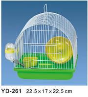 Клетка для Хомячков+АКСЕССУАРЫ.22,5*17*22,5 см.