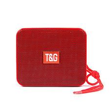 Портативная bluetooth колонка T&G TG-166, Красный, фото 3