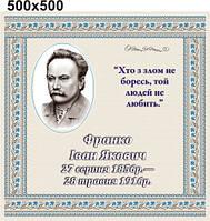 Іван Франко. Стенд для кабинета украинской литературы