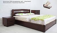 Кровать из массива бука с подъемным механизмом  Каролина