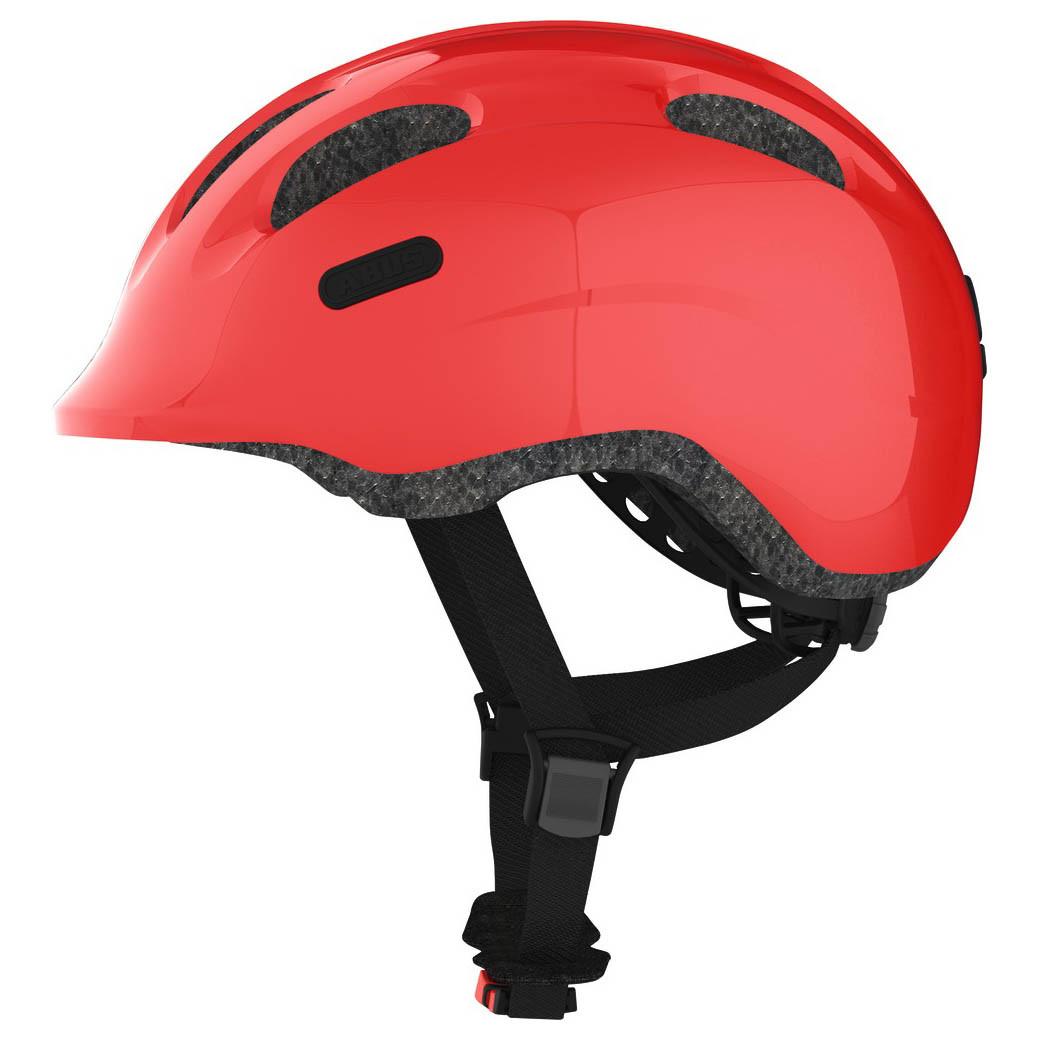 Велосипедний дитячий шолом ABUS SMILEY 2.0 S Sparkling Red
