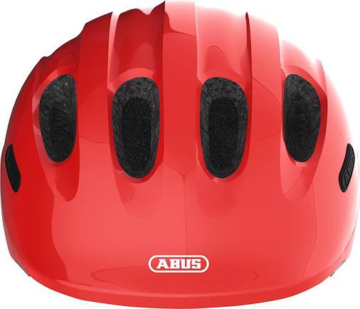 Велосипедний дитячий шолом ABUS SMILEY 2.0 S Sparkling Red, фото 2