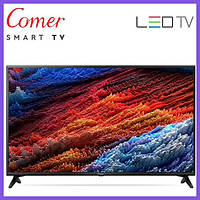 "Телевизор Comer LED 24"" Smart TV+WiFi+T2, Android 4.4+HDM"