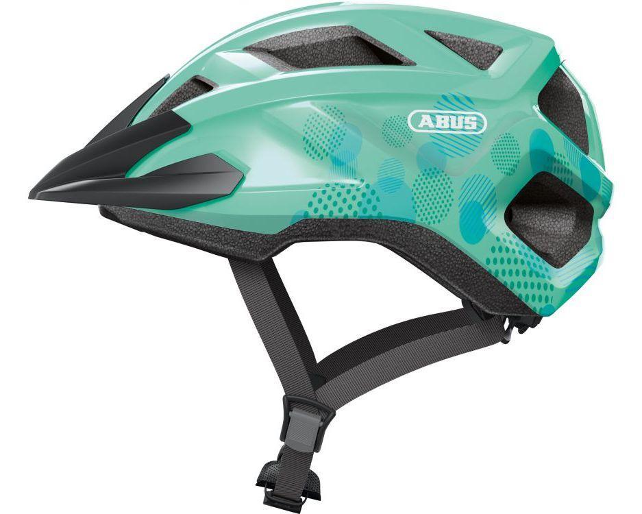 Велосипедний дитячий шолом ABUS MOUNTZ M 52-57 Celeste Green