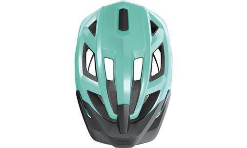 Велосипедний дитячий шолом ABUS MOUNTZ M 52-57 Celeste Green, фото 2