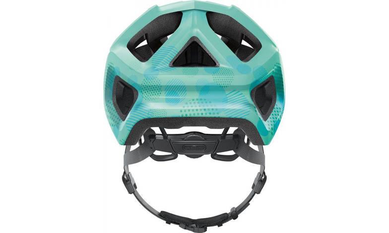 Велосипедний дитячий шолом ABUS MOUNTZ M 52-57 Celeste Green, фото 3