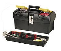 """Ящик для инструмента 24"""", пластмассовый с 2-мя встроенными органайзерами STANLEY 1-92-067"""