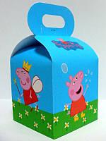 Бонбоньерка Свинка Пеппа 7х7х7см