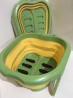 Оригинал! Массажер-ванна роликовая для ног Foot Bath Massager FB-00082 Ванна-массажер для ухода за стопами