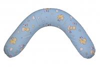 """Подушка для беременных и кормления """"Classik"""" из Бязи с наполнителем холлофайбер Лежебока,Украина"""
