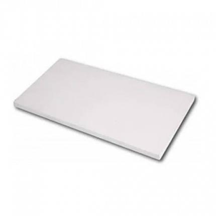 Доска разделочная Empire пластиковая белая 60 х 40 х 1.3 см. 2551, фото 2