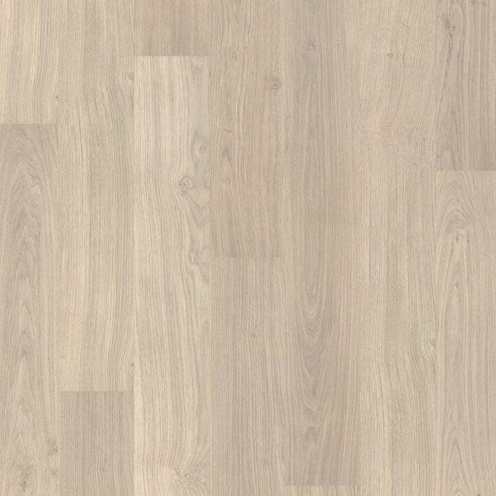 Ламинат влагостойкий Quick Step ELIGNA Доска дуба светло-серого 1304 32 класс 8мм зауженная доска