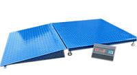 Весы с пандусом платформенные 1250х1500мм - 1000 кг
