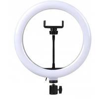 Кольцевая лампа Led 26 см с креплением для телефона и штативом 1301, фото 1