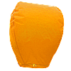 Небесні ліхтарики купол, висота ліхтарика: 85 см., колір: помаранчевий