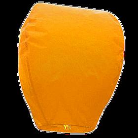Небесные фонарики купол, высота фонарика: 85 см., цвет: оранжевый