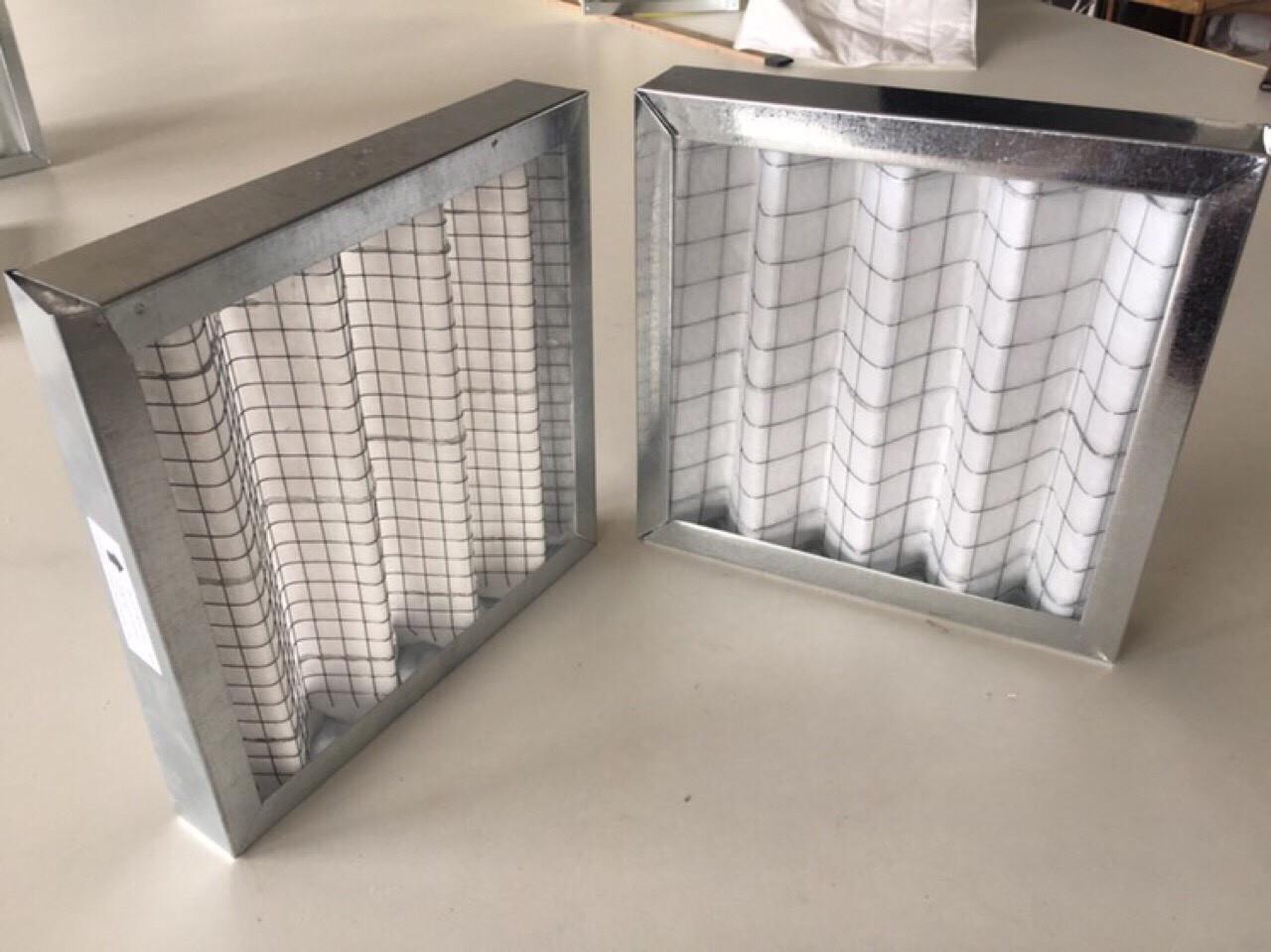 рамочные панельные фильтры