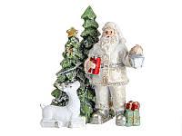 Фигурка декоративная, новогодняя Дед Мороз 8,5 см 191-051