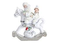 Фигурка декоративная, новогодняя Дед Мороз 8,5 см 191-053