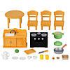 Sylvanian Families 5164 - набор с фигуркой Кошки Мамы Кухня Epoch, фото 2