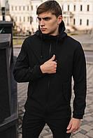 Куртка мужская черная демисезонная утепленная Softshell Intruder размер S M L XL XXL XXXL