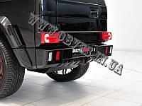 Бампер задний Brabus на Mercedes G-class W463 (стекловолокно)
