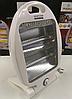 Кварцовий обігрівач Heater CB 7745 Crownberg Quartz 800Вт, фото 2