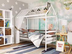 ✅Дерев'яна дитяче ліжко-будиночок Тому 80х190 ТМ Arbor Drev