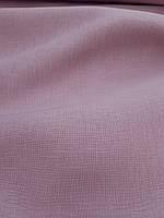 Льняная ткань для постельного белья розово - лилового цвета (шир. 260 см)