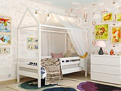 ✅Дерев'яна дитяче ліжко-будиночок Джері 80х190 ТМ Arbor Drev
