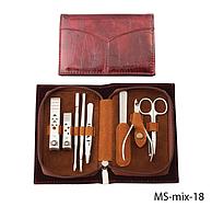 Набор для маникюра в стильной упаковке Lady Victory LDV  MS-mix-18 /35-9