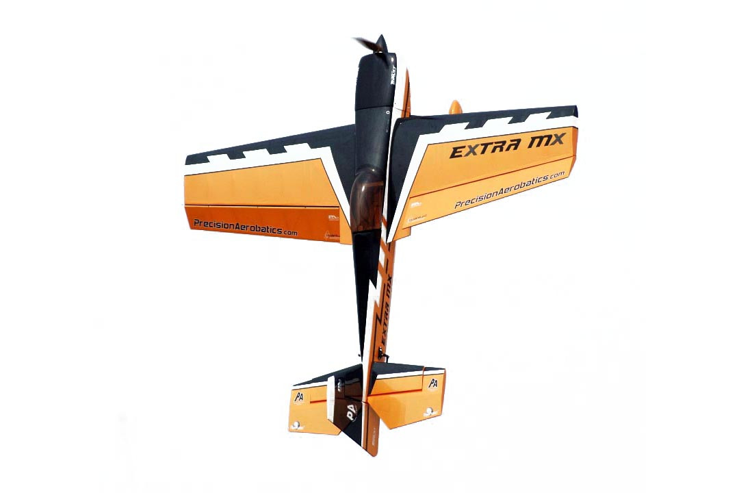 Самолёт р/у Precision Aerobatics Extra MX 1472мм KIT (желтый)