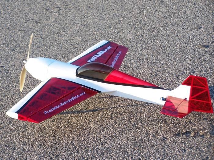 Самолёт радиоуправляемый Precision Aerobatics Katana Mini 1020мм KIT (красный)