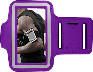 Спортивный чехол Malloom на руку (8х15 см) Purple