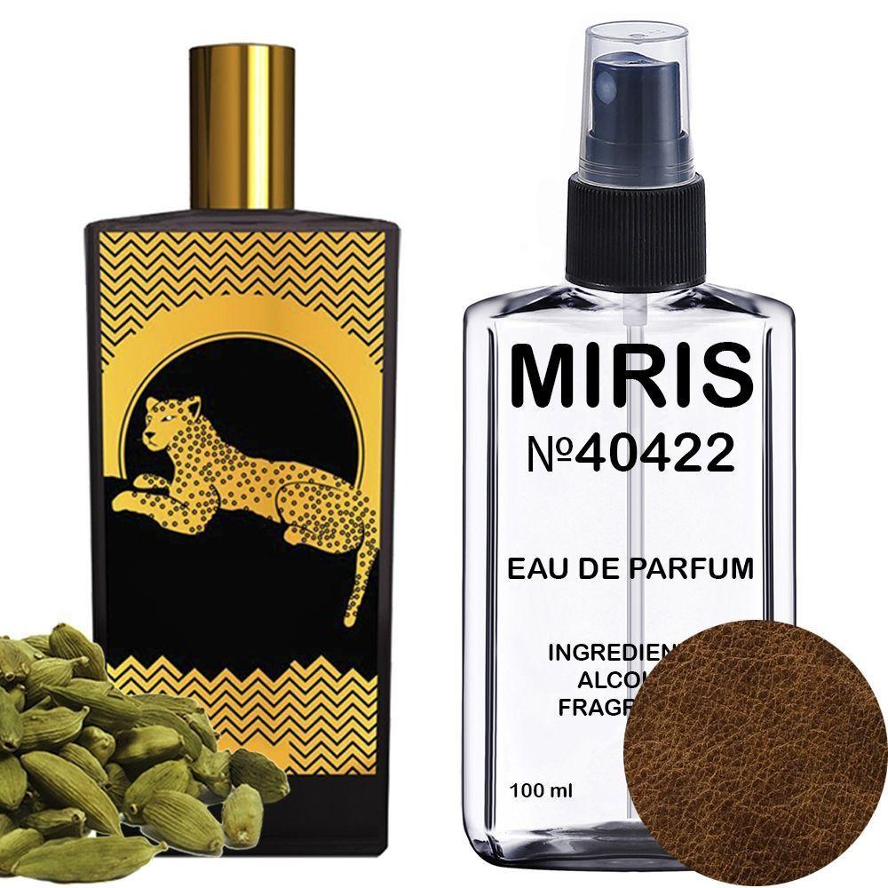 Духи MIRIS №40422 (аромат похож на Memo Paris African Leather) Унисекс 100 ml